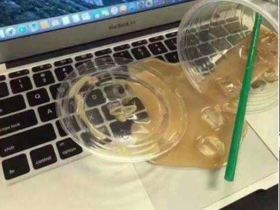 【 OMG!!倒瀉左咖啡落部 MAC 度!】- BeFiNE KeySkin