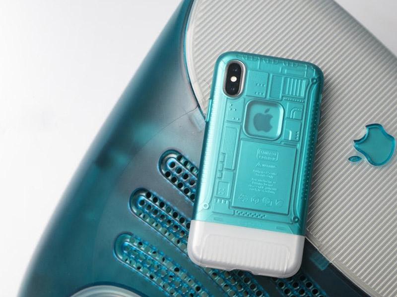 【 致敬!iMac 20 周年再現經典!Spigen 推出復刻經典設計 iPhone 保護殼 】